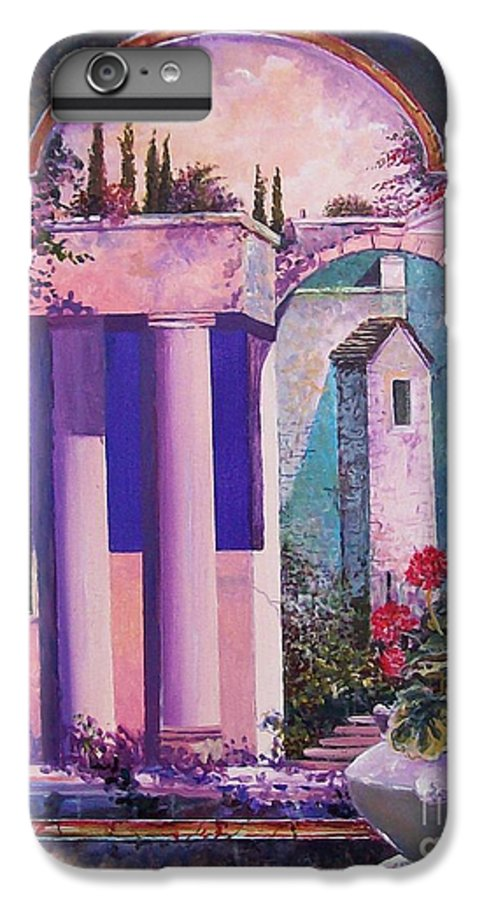 Still Life IPhone 6 Plus Case featuring the painting Structures With Emotional Dimensions by Sinisa Saratlic