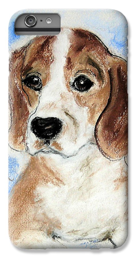 Dog IPhone 6 Plus Case featuring the drawing Sweet Innocence by Cori Solomon