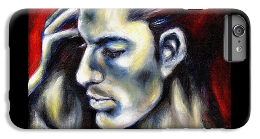 Man IPhone 6 Plus Case featuring the painting Sweetest Taboo by Hiroko Sakai