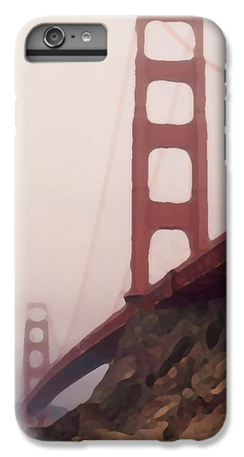 Art IPhone 6 Plus Case featuring the photograph The Bridge by Piero Lucia