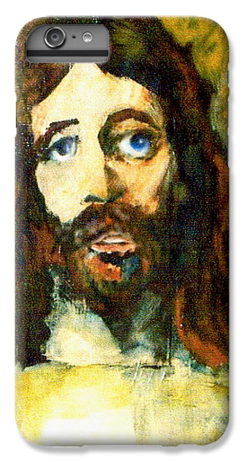 Jesus Christ IPhone 6 Plus Case featuring the painting The Galilean by Seth Weaver