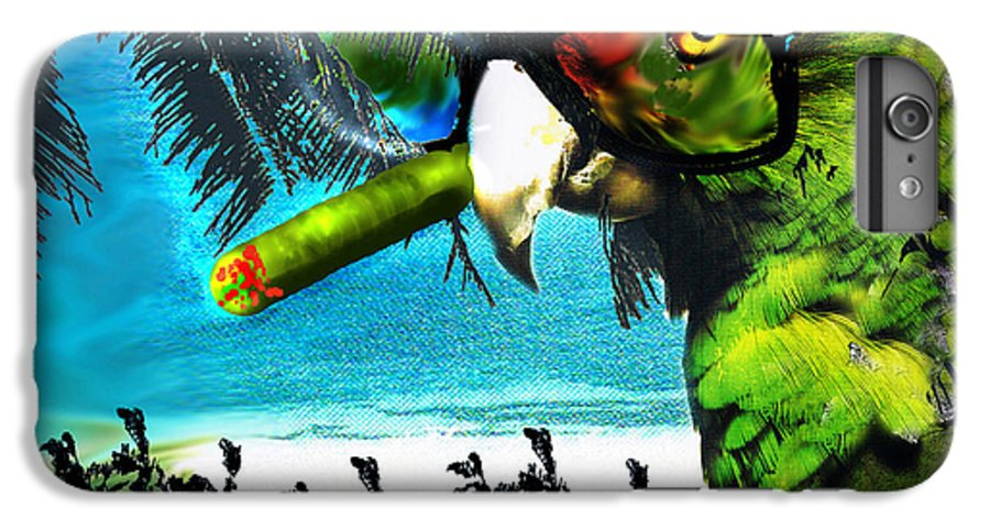 The Great Bird Of Casablanca IPhone 6 Plus Case featuring the digital art The Great Bird Of Casablanca by Seth Weaver