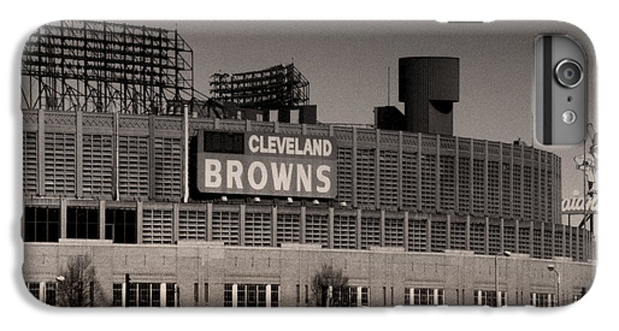 Cleveland IPhone 6 Plus Case featuring the photograph The Hometeams by Kenneth Krolikowski