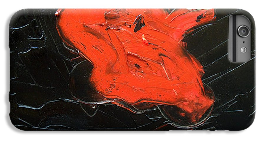 Surreal IPhone 6 Plus Case featuring the painting The Last Hope by Sergey Bezhinets