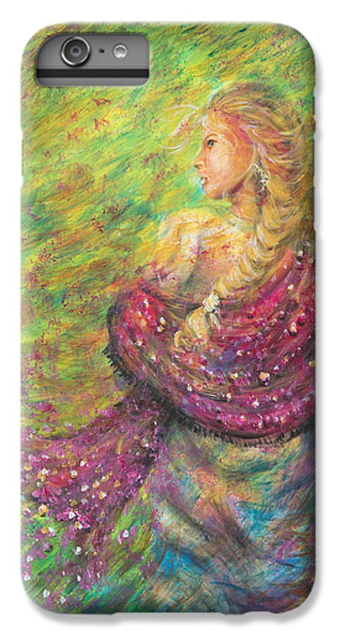 Lady IPhone 6 Plus Case featuring the painting The Magdelene by Nik Helbig
