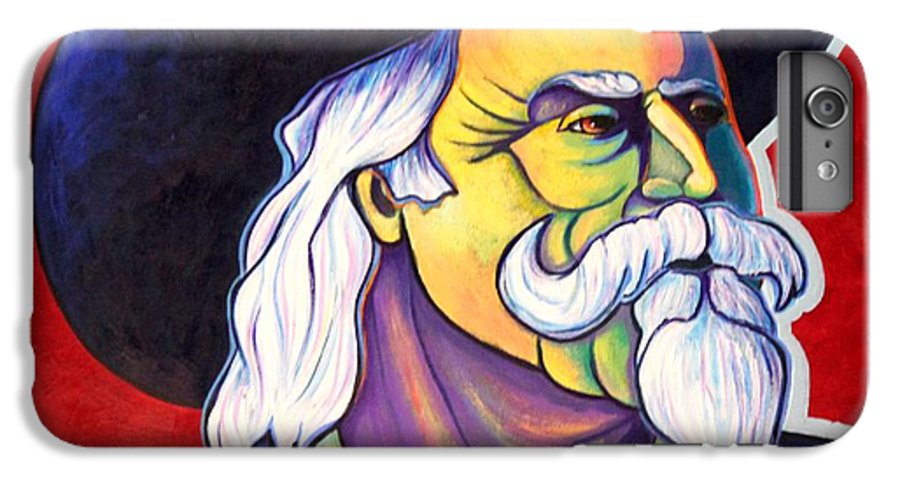 Western Hero IPhone 6 Plus Case featuring the painting The Plainsmen - Buffalo Bill Cody by Joe Triano