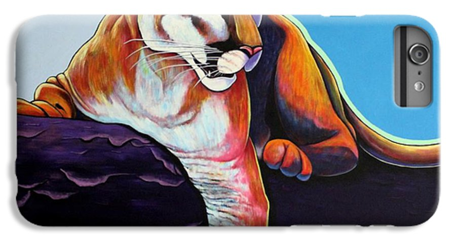 Wildlife IPhone 6 Plus Case featuring the painting The Toll Collector by Joe Triano