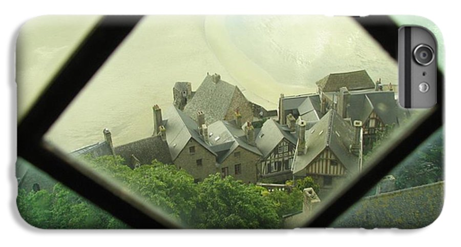 Le Mont St-michel IPhone 6 Plus Case featuring the photograph Through A Window To The Past by Mary Ellen Mueller Legault