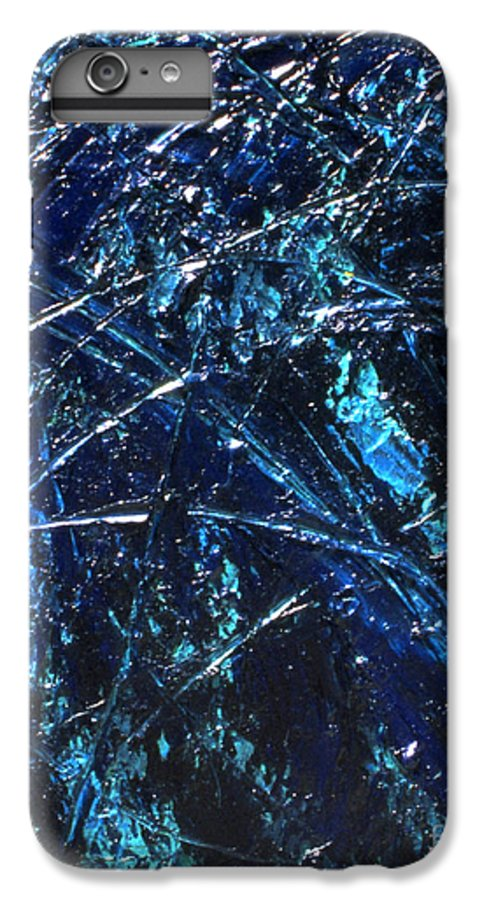 Abstract IPhone 6 Plus Case featuring the painting Transitions I by Dean Triolo