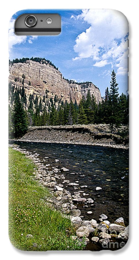 Landscape IPhone 6 Plus Case featuring the photograph Upriver In Washake Wilderness by Kathy McClure