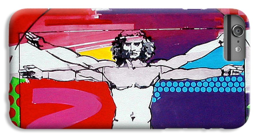 Classic IPhone 6 Plus Case featuring the painting Vetruvian by Jean Pierre Rousselet