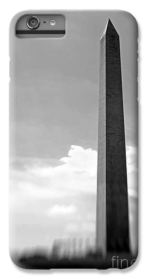 Washington IPhone 6 Plus Case featuring the photograph Washington Monument by Tony Cordoza