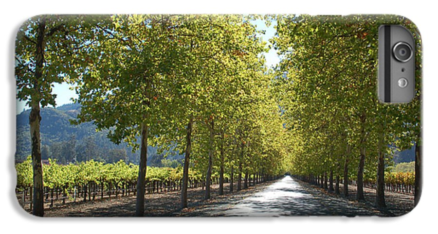Napa IPhone 6 Plus Case featuring the photograph Wine Country Napa by Suzanne Gaff