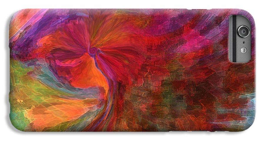 Woman Art IPhone 6 Plus Case featuring the digital art Women by Linda Sannuti