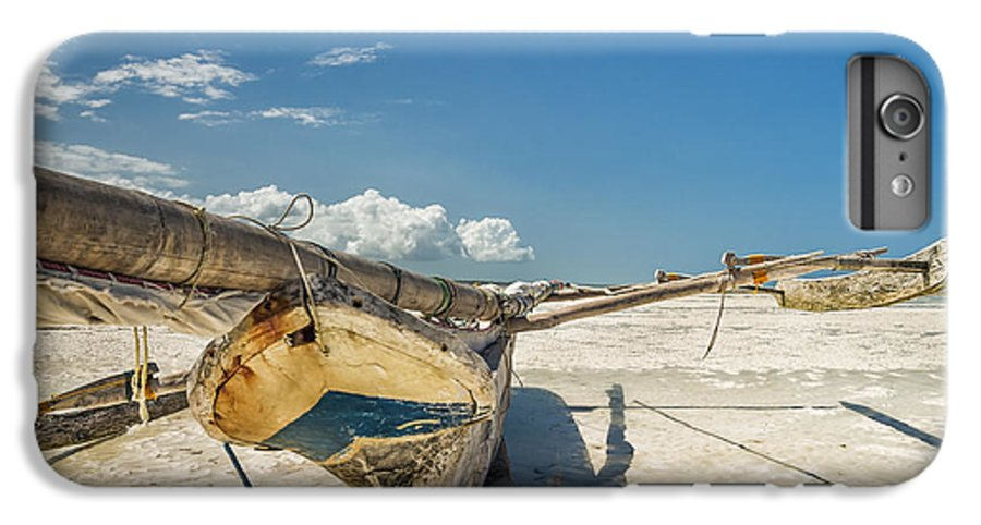 3scape IPhone 6 Plus Case featuring the photograph Zanzibar Outrigger by Adam Romanowicz