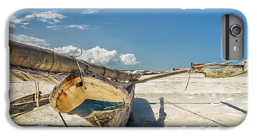 3scape Photos IPhone 6 Plus Case featuring the photograph Zanzibar Outrigger by Adam Romanowicz