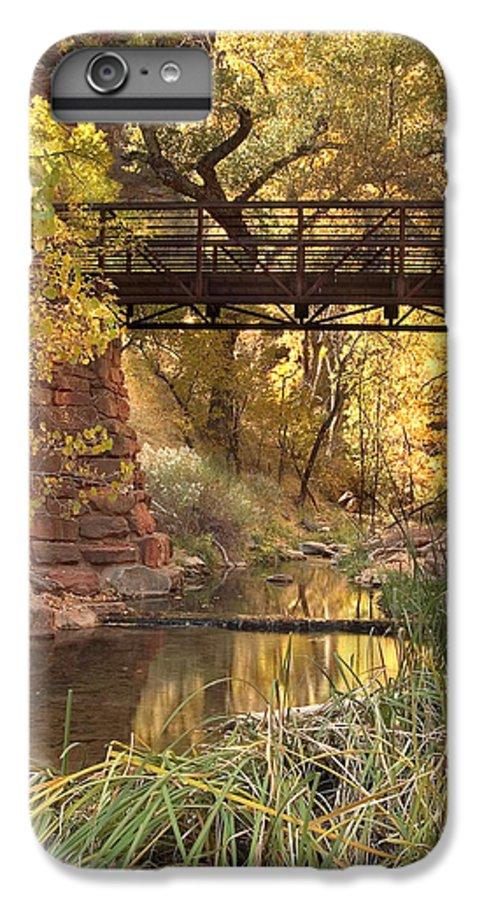 3scape IPhone 6 Plus Case featuring the photograph Zion Bridge by Adam Romanowicz