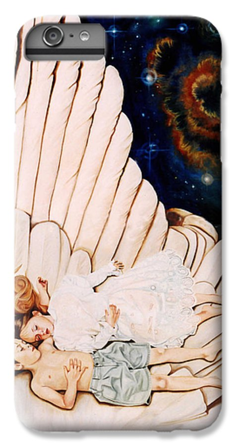 Be Still And Know That I Am God IPhone 6 Plus Case featuring the painting Be Still by Teresa Carter