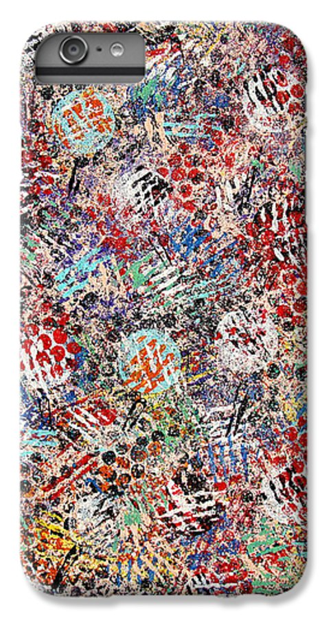 Golf IPhone 6 Plus Case featuring the painting Golf by Natalie Holland