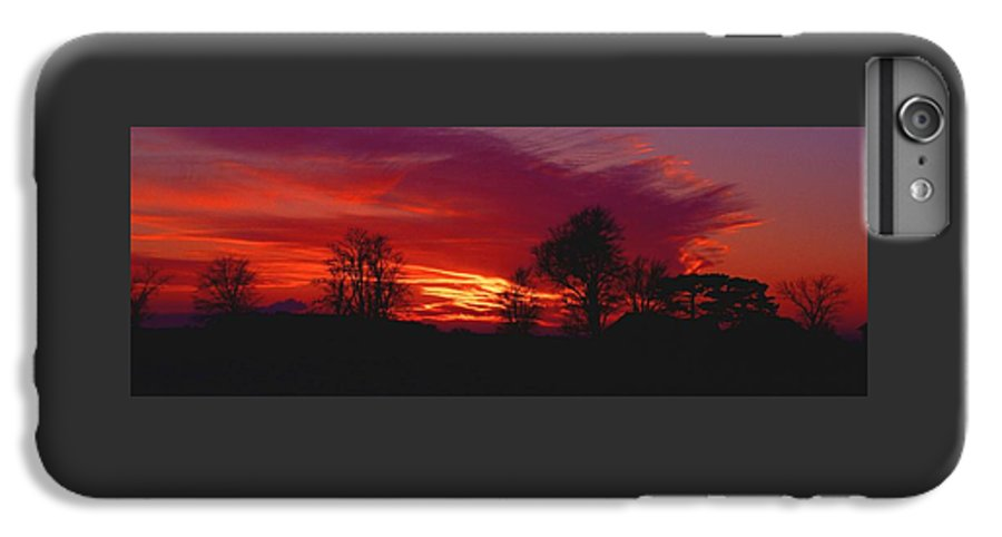 Sunset IPhone 6 Plus Case featuring the photograph 022107-37 by Mike Davis