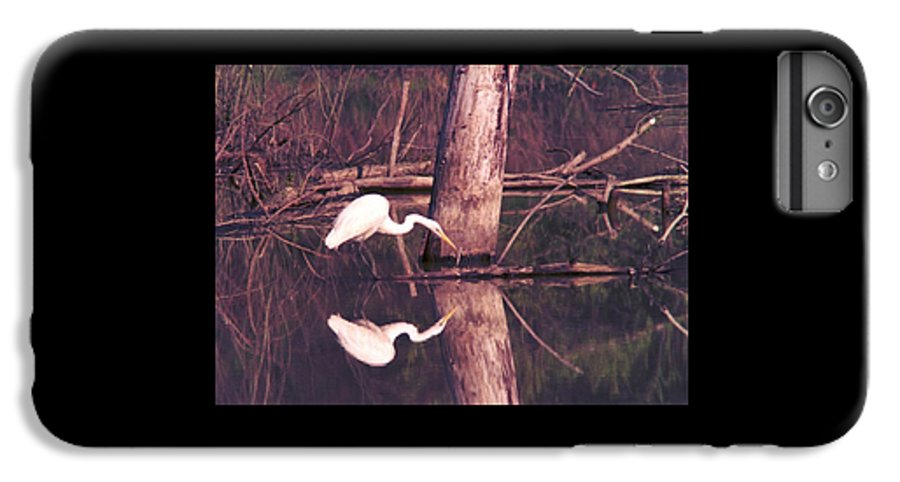 Great Egret IPhone 6 Plus Case featuring the photograph 070406-17 by Mike Davis