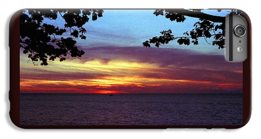 Sunset IPhone 6 Plus Case featuring the photograph 070506-68 by Mike Davis