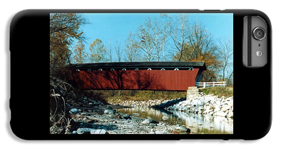 Bridge IPhone 6 Plus Case featuring the photograph 072106-31 by Mike Davis