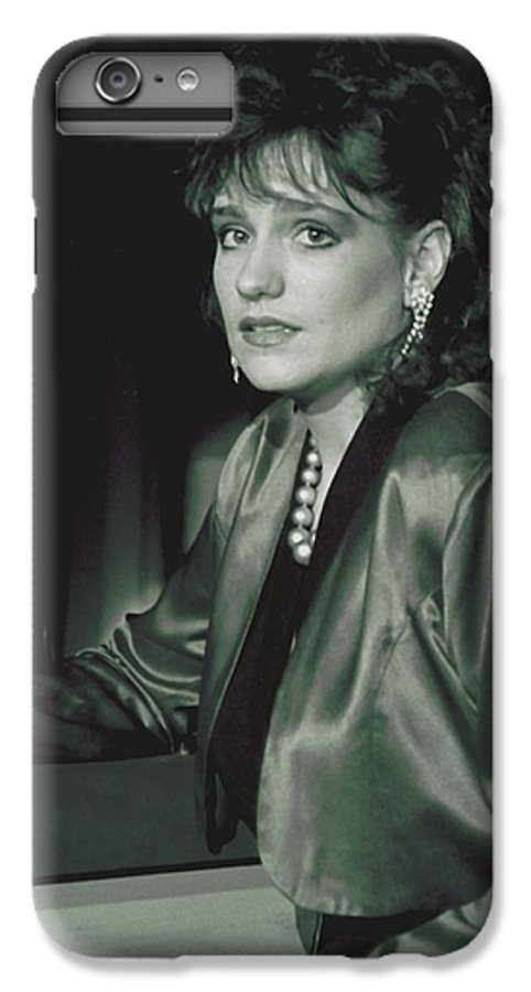 Portrait IPhone 6 Plus Case featuring the photograph 092508-3  Cheri by Mike Davis
