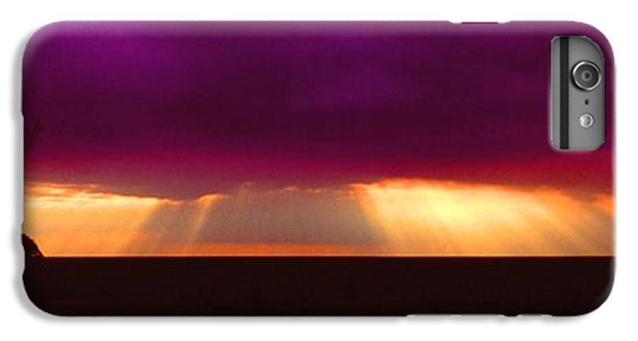 Sunset IPhone 6 Plus Case featuring the photograph 092908-4 by Mike Davis