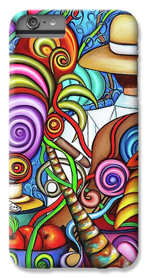 Cuba IPhone 6 Plus Case featuring the painting Always by Annie Maxwell