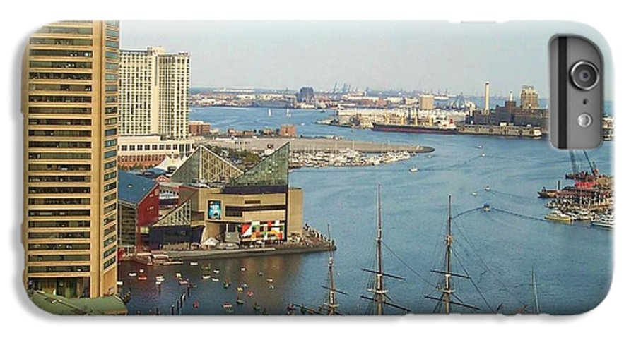 Baltimore IPhone 6 Plus Case featuring the photograph Baltimore by Debbi Granruth