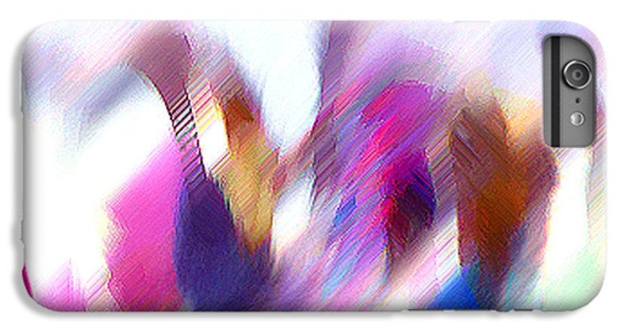 Digital Media IPhone 6 Plus Case featuring the painting Color Dance by Anil Nene