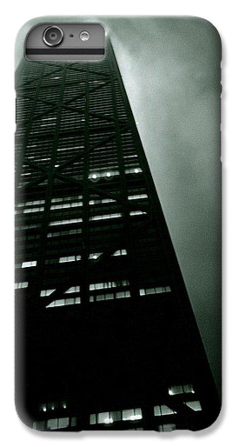 Geometric IPhone 6 Plus Case featuring the photograph John Hancock Building - Chicago Illinois by Michelle Calkins