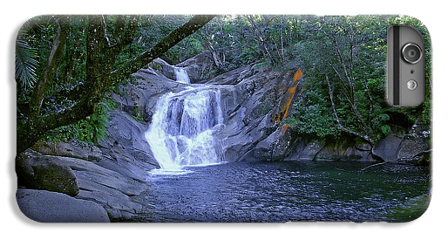 Tropical IPhone 6 Plus Case featuring the photograph Josephine Falls And Tropical Pool by Kerryn Madsen- Pietsch