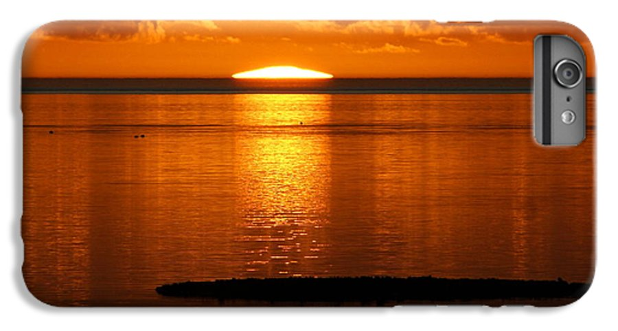 Sunset IPhone 6 Plus Case featuring the photograph Looking For The Green Flash by Debbie May