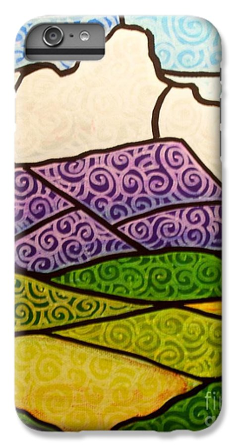 Mountians IPhone 6 Plus Case featuring the painting Massanutten Peak by Jim Harris