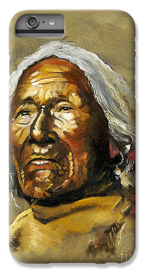Southwest Art IPhone 6 Plus Case featuring the painting Painted Sands Of Time by J W Baker