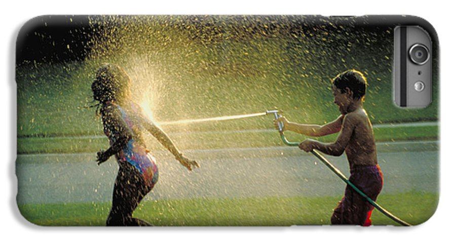 Hose IPhone 6 Plus Case featuring the photograph Summer Fun by Carl Purcell