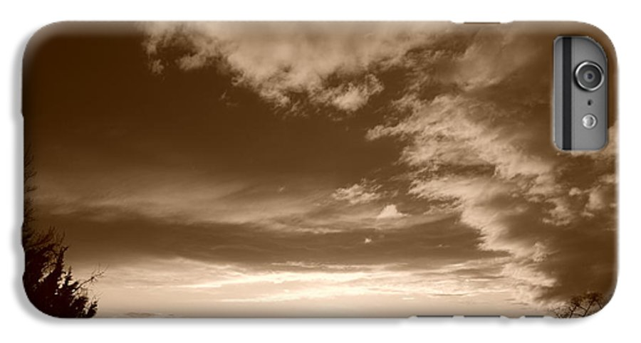 Sunset IPhone 6 Plus Case featuring the photograph Sunset And Clouds by Rob Hans