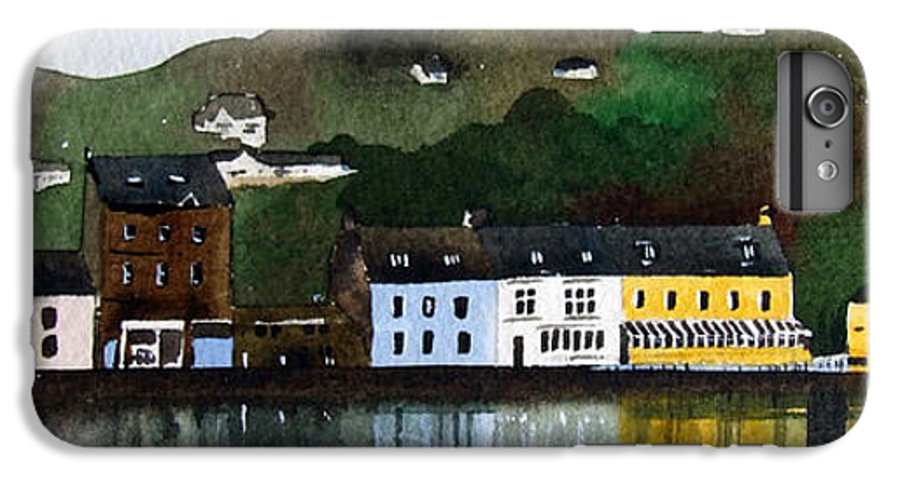 Landscape IPhone 6 Plus Case featuring the painting Tarbert by Paul Dene Marlor