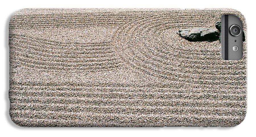 Zen IPhone 6 Plus Case featuring the photograph Zen Garden by Dean Triolo