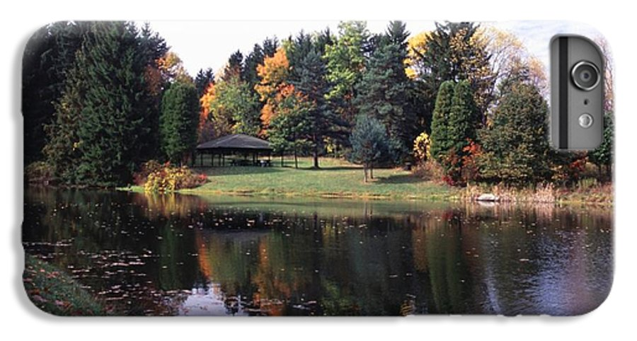Autumn Colors IPhone 6 Plus Case featuring the photograph 102201-23 by Mike Davis