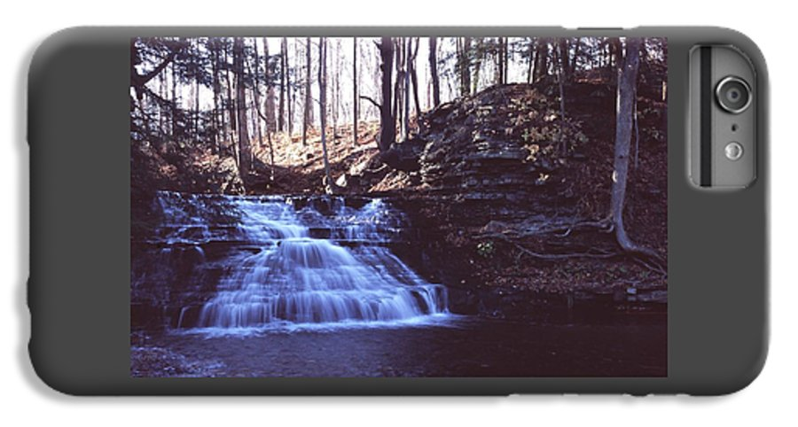 Waterfall IPhone 6 Plus Case featuring the photograph 111401-4 by Mike Davis