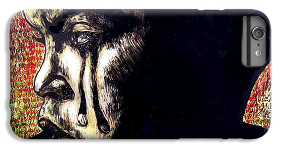 IPhone 6 Plus Case featuring the mixed media 1140 by Chester Elmore