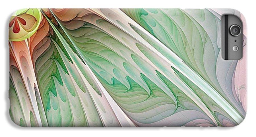 Digital Art IPhone 6 Plus Case featuring the digital art Petals by Amanda Moore