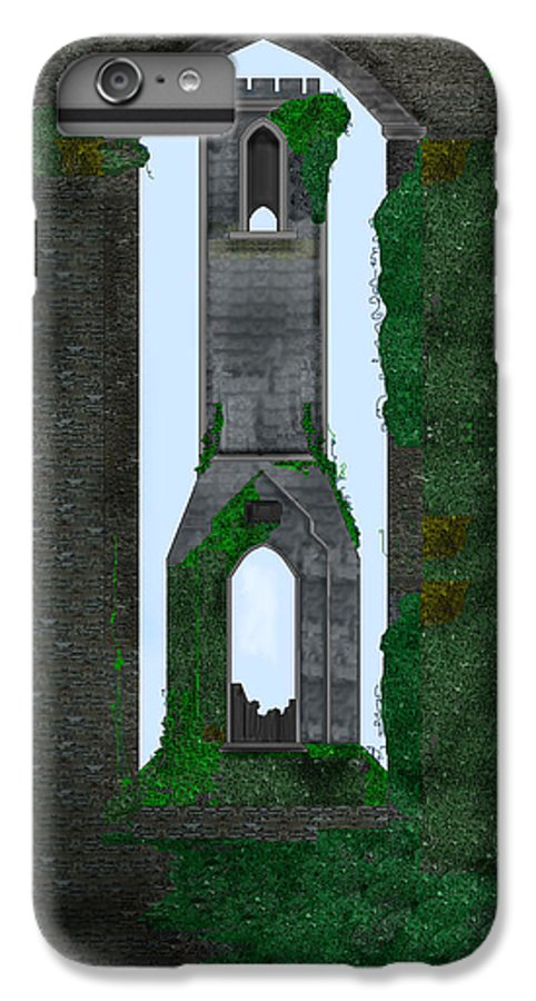 Ireland IPhone 6 Plus Case featuring the painting Quint Arches In Ireland by Anne Norskog