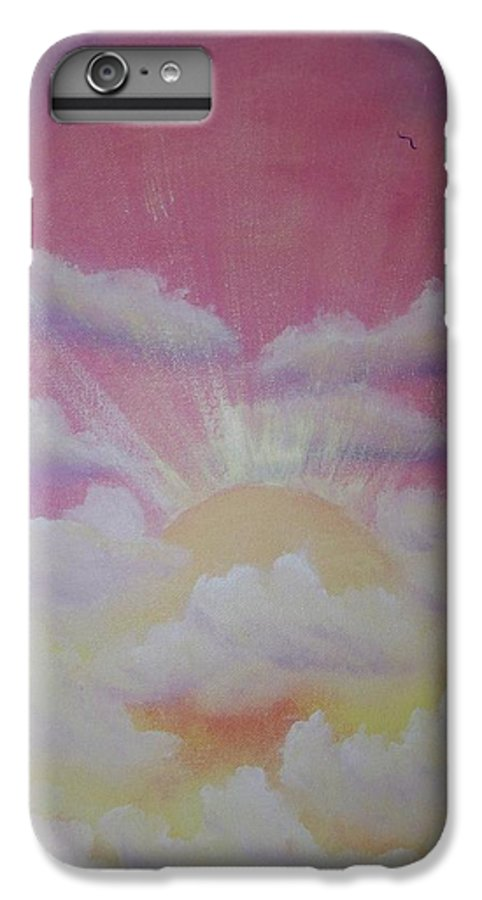 Bird IPhone 6 Plus Case featuring the painting The Ascension by Laurie Kidd