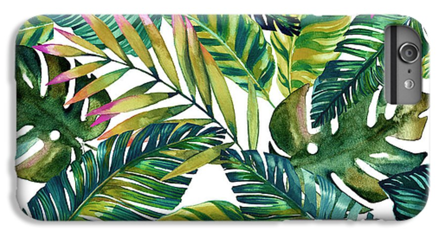 Summer IPhone 6 Plus Case featuring the photograph Tropical by Mark Ashkenazi