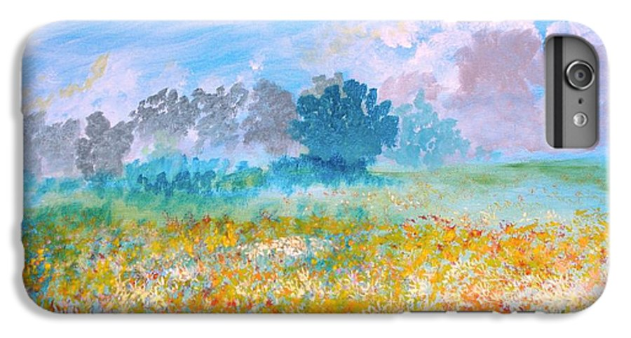New Artist IPhone 6 Plus Case featuring the painting A Golden Afternoon by J Bauer