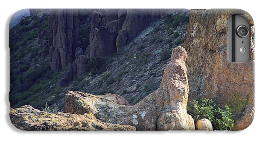 Rock Formations IPhone 6 Plus Case featuring the photograph A Hard Ride by Kathy McClure